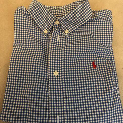 53f2a757 Skjorter til gutt str 7 år (Ralph Lauren, Gant, Massimo Dutti