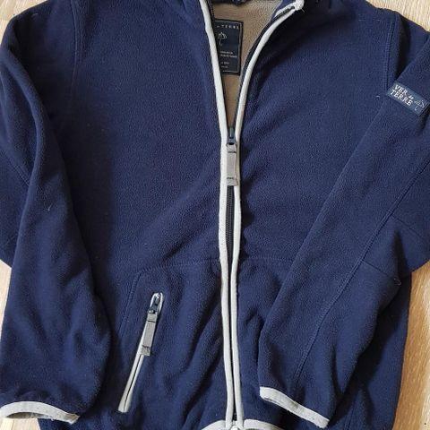 8bd169b66ed0 Ver de Terre blå Fleece jakke