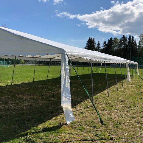 Ekstra Partytelt 3x4,5m 550g/m² PVC - Brukt - NYPRIS: 4190kr.- | FINN.no ZL14