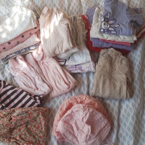e4f56f2c Stor babypakke til jente str 62 ,sommertøy! 250 kr. Bærums Verk