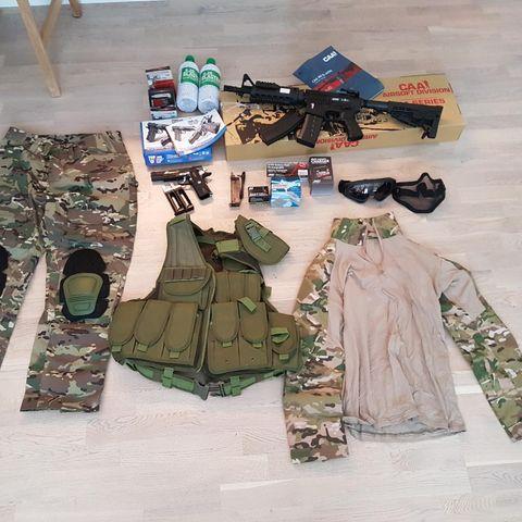 862ca919 GO! Rip-Stop Militær Bukse - Norsk Camo | FINN.no