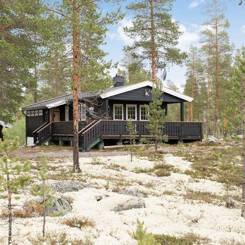 966393ff Velholdt og trivelig hytte med anneks - flott terreng!
