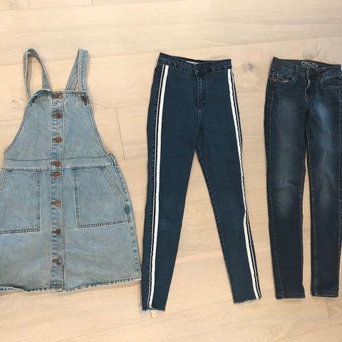 47af464c Fine klær til jente str. 152-164 og xs. 20 plagg selges samlet for 300kr.