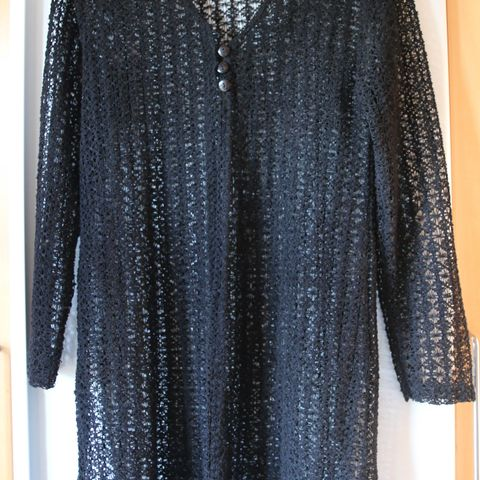 2664e49b Vintage skreddersydd kjole/vest med knepping Fóret . trnd tøy 399 ...