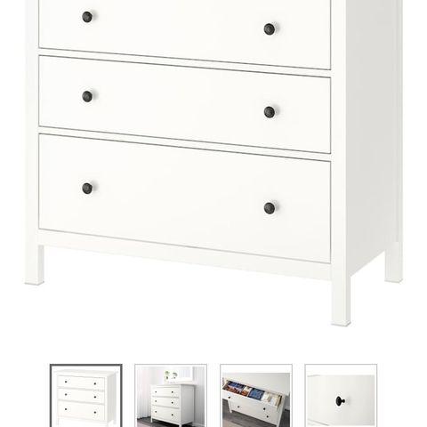Ordinaire IKEA Hemnes Kommode / Nattbord   FINN.no