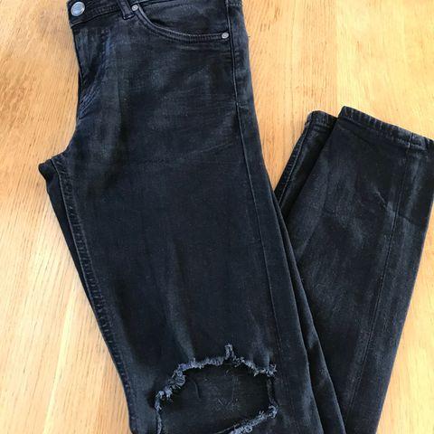 Sorte jeans fra Jack&Jones selges | FINN.no