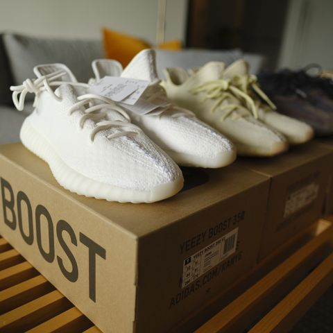 Yeezy boost 350 v2 cloudwhite | FINN.no