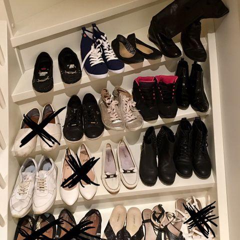 vintage støvletter, adidas sneakers og italienske