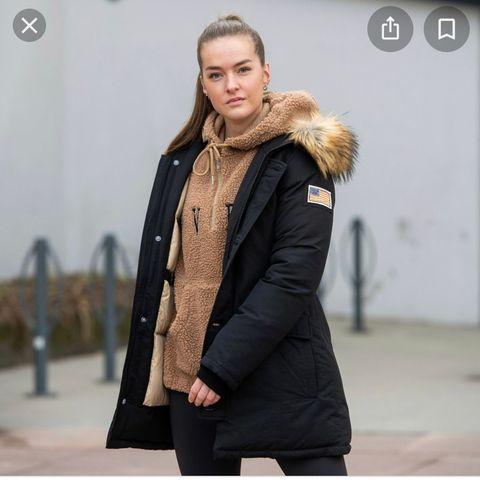 Svea jakke uekte pels   forkjøpsrett   hedwigcarlsen
