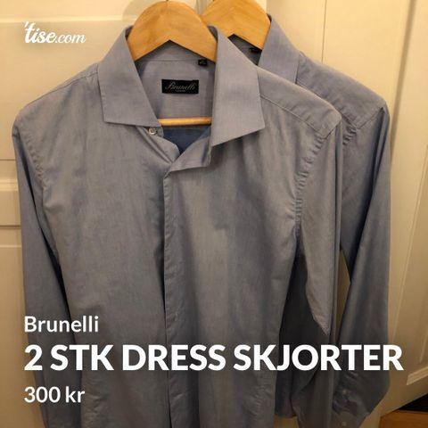2 nye skjorter fra Sand XO 800 kroner totalt | FINN.no