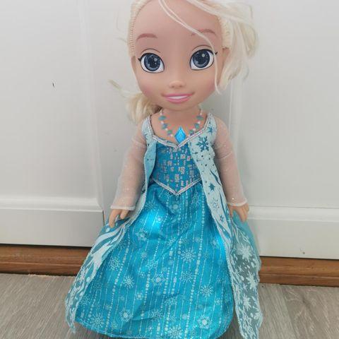 Frost dukke Elsa, puslespill, frozen | FINN.no