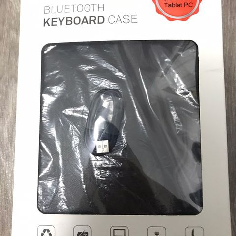 Lite og lett bluetooth tastatur til PC, ipad nettbrett