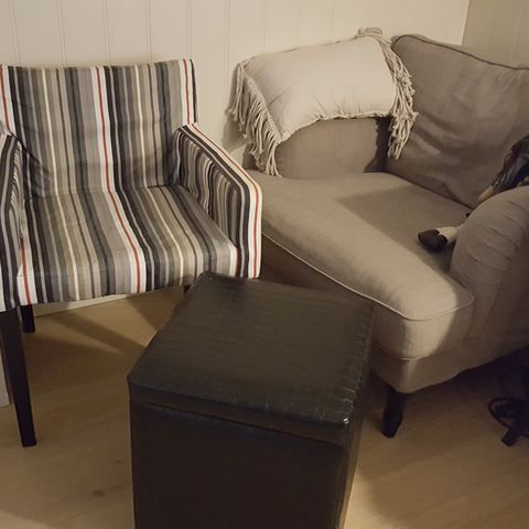 IKEA BENARP lenestol | FINN.no