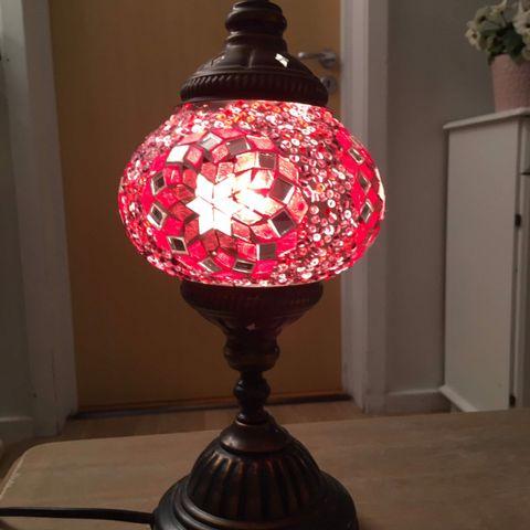 Tyrkisk lampe   FINN.no