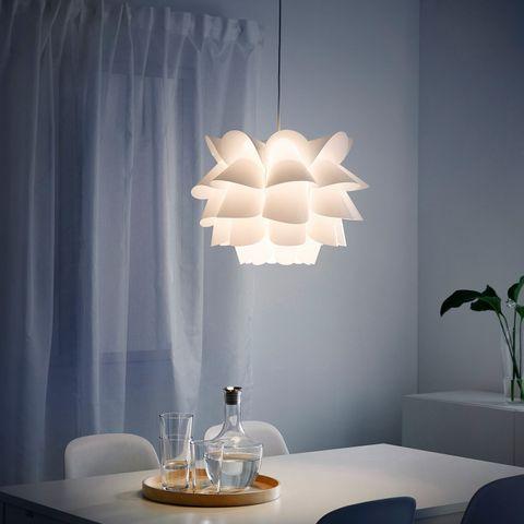IKEA knappa lampe   FINN.no
