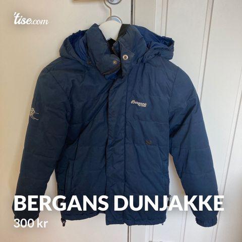 Bergans softshell jakke og Breheimen kids bukse str. 140