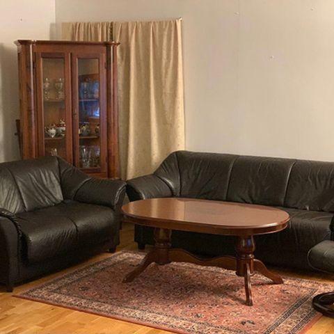 Fin Las Vegas recliner, 3 seters sofa selges   FINN.no