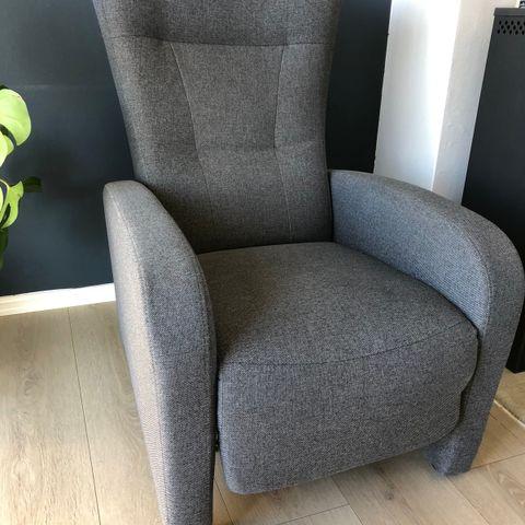 Birk hvilestol med krakk | FINN.no