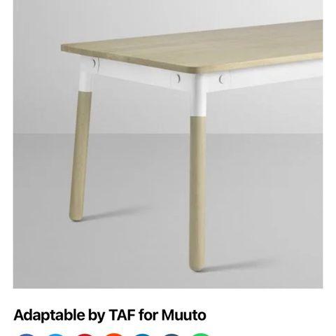 Hay. Muuto Adaptable spisebord arbejdsbord. |