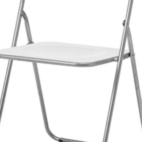 IKEA Gunde klappstoler med stolpute | FINN.no