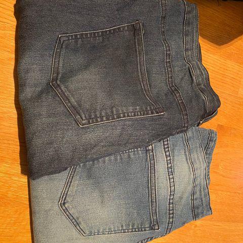 Bukser 2 stk til salgs. H&M brun.lifetime sort | FINN.no