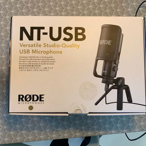 Streaming i studiokvalitet! Røde NT USB Mini, USB mikrofon