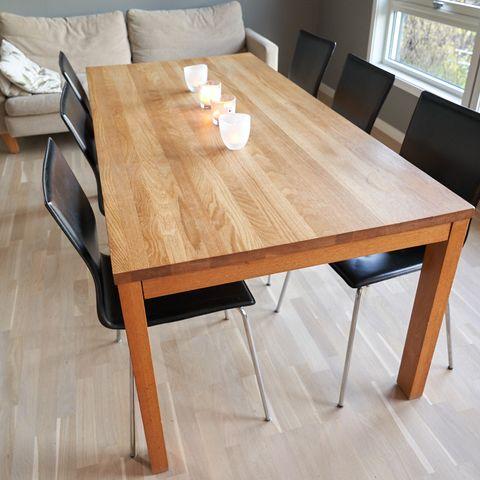 Spisebord BERG med uttrekk Design4U