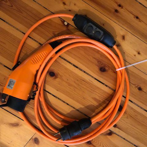 JUSTERBAR LADEKABEL16A TYPE 1 VEKSLE MELLOM 6A 8A 10A 12A