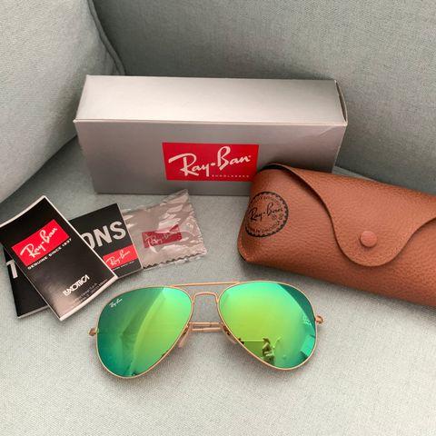 RayBan Aviator solbriller   FINN.no