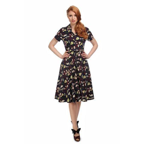 mørk blå kjole H&M EUR 46 størrelse | FINN.no