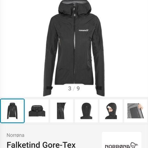 Bergans Folgefonna lady allværs jakke str M   FINN.no