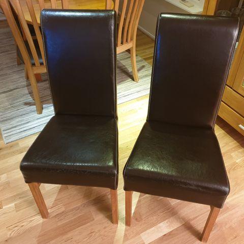2 fine kjøkkenstoler selges | FINN.no