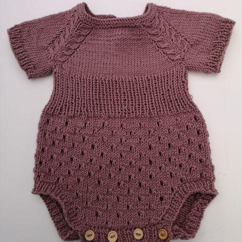 Heklet baby jakkebukse 2 6mnd   FINN.no