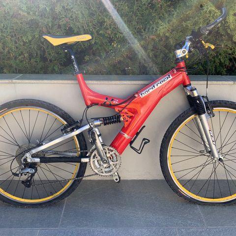 Hard rocx sykkel