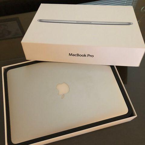 Macbook Air 13.Meget bra tilstand. Original boks,lader og