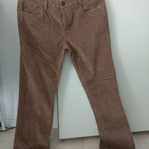 Munthe plus Simonsen kaki grønn bukse str.42 | FINN.no