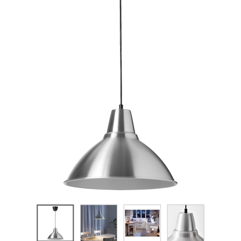 Tom Dixon Void Pendant Steel | FINN.no