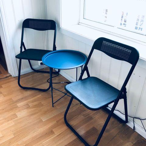 19 stk. Ikea Jeff klappstoler MIDLERTIDIG UTSOLGT | FINN.no