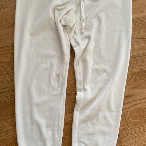 Busnel Tredias Trousers Vide Bukser Hvit BUSNEL