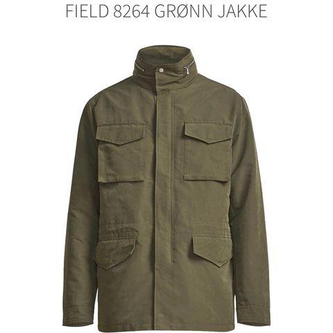 FIELD 8264 GRØNN JAKKE   Hoyer.no