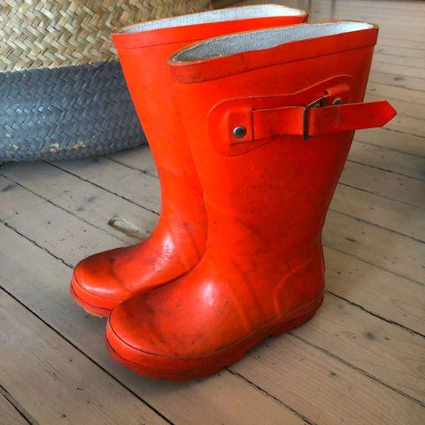 Viking Alv gummistøvler barn str 23   FINN.no