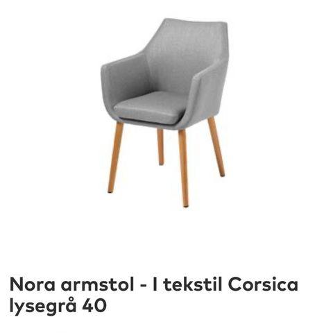 Nora Armstol spisestuestoler | FINN.no