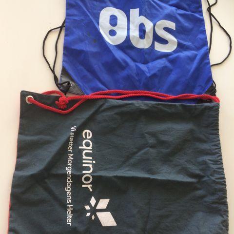 Bag 2 stk 100kr | FINN.no