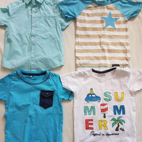 Mario t skjorter, str 92 | FINN.no