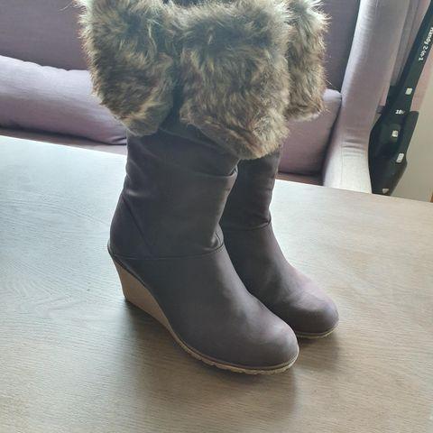 Søte vinter støvletter:)   FINN.no
