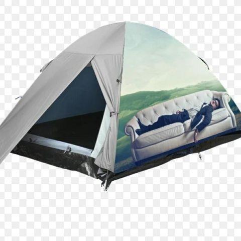 Telt Brukt , hull i teltet. | FINN.no
