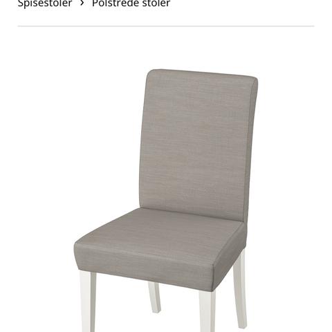 Ikea spise stoler | FINN.no