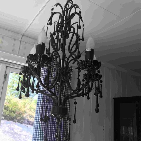Eichholtz Arlington krystall lampe | FINN.no