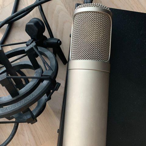 audio technica at2020 USB med arm og popfilter   FINN.no