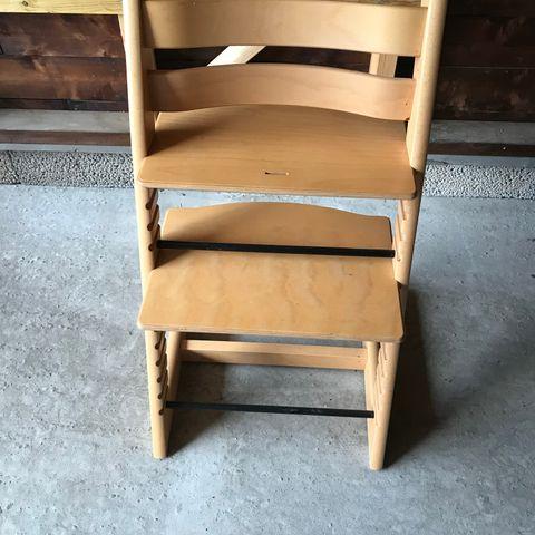 Stokke Sitti Tripp Trapp | Stol, Finér, Furniture